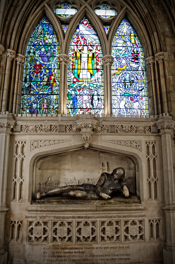William Shakespeare at Southwark Cathedral