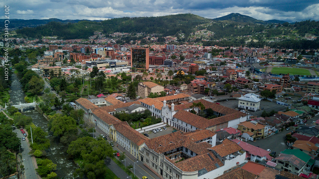 Cuenca 2017 Historic Centre Drone View