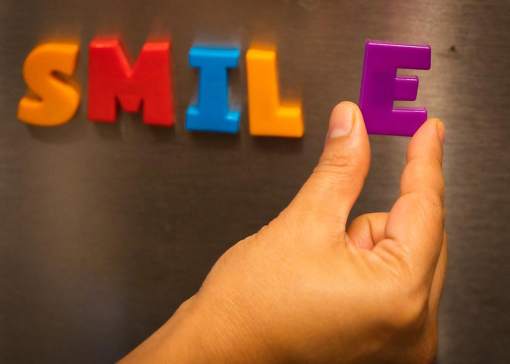 Put on a Smile...