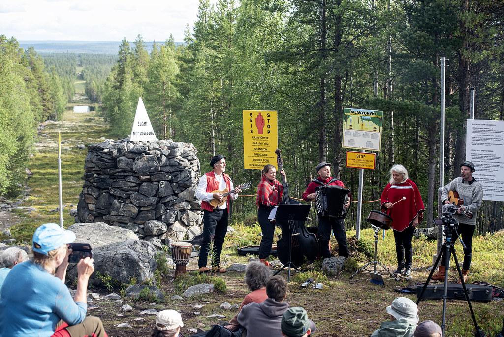 Øvre Pasvik nasjonalpark - Treriksrøysa
