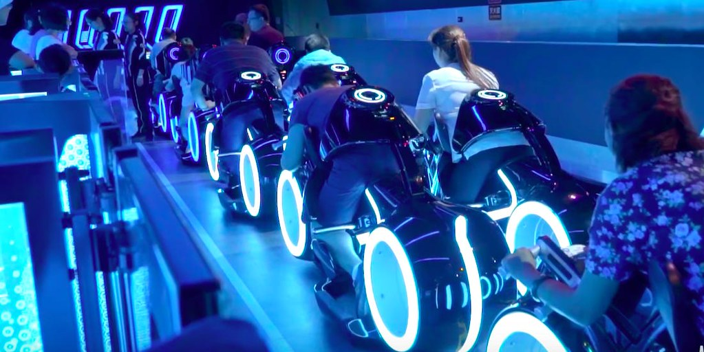 New Rides in the Theme Park